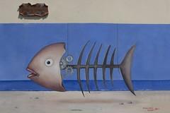 2017 09 10 - Diamante - (127) - Sagra del Peperoncino (Giovanni.Ciliberti) Tags: murales sagra peperoncino artisti arte mare sea pesce lisca fish fishbone