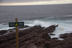 Be cautious at Cape Spear