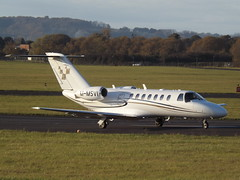 M-MSVI Cessna Citation CJ3 Corporate (Aircaft @ Gloucestershire Airport By James) Tags: gloucestershire airport mmsvi cessna citation cj3 bizjet corporate egbj james lloyds
