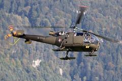 V-244_AerospatialeAlouetteIII_SwissAF_Meiringen (Tony Osborne - Rotorfocus) Tags: aerospatiale alouette iii sa316 swiss air force schweizer luftwaffe switzerland meiringen axalp 2006 helicopter v244
