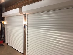 SWS roller doors completed installations from over the Summer 2017