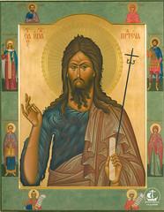Иоанн Предтеча. Кусов И.А. 94х74, 2005. С.Саклны, Нижегородская область.