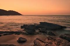 Golden hour on Sunset in João Fernandes beach, Armação dos Búzios Rio de Janeiro (antoniohorta) Tags: nikon snapseed búzios riodejaneiro brazil sunset