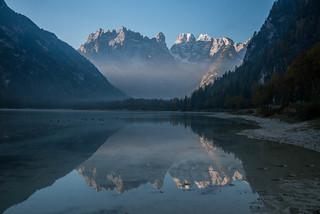 Eisiger Morgen am Dürrensee