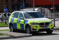 BCH Firearms Unit - OU17 BUP (999 Response) Tags: bch firearms unit ou17bup bmw hertfordshire police luton airport 999