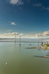 Forth Road Bridges (Chris_Hoskins) Tags: forthroadbridge wwwexpressionsofscotlandcom scottishlandscapephotography scotland centralscotland viewingplatform scottishlandscape firthofforth queensferrycrossing landscape