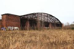Abandoned Schönwalde Airfield (flyingaxel) Tags: schönwalde abandoned airfield ww2 worldwar hangar germany brandenburg