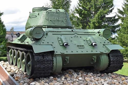 T-34-85 '340' – Kubinka Tank Museum