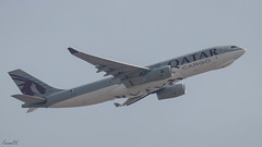 Qatar Cargo A330 (A7-AFZ) departing VAAH (faram.k) Tags: a330 a7afz airbus aircraft freighter jet qatarairways ahmedabad gujarat india in
