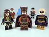 Lego Watchmen by Paris Custom Bricks (Alien Hand) Tags: lego watchmen dc nite owl silk spectre ozymandias phoenix custom bricks pad print