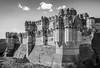 Coca Castle (Ignacio Ferre) Tags: coca segovia comunidaddecastillayleón spain españa cocacastle castillo castle architecture arquitectura castillodecoca bw blancoynegro blackwhite monocromo monocromático monochrome