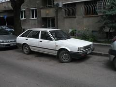 1989 Nissan Sunny (Alpus) Tags: nissan sunny bulgaria sofia rare car retro classic june 2016