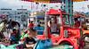 Fire Truckers (UrbanphotoZ) Tags: longbeach amusementpark kiddierides fire firetruck roadster boys girls mother parents tickets colorful ladder condos telephonepoles nassau newyork