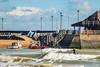 Action on Viking Bay, Broadstairs (philbarnes4) Tags: vikingbay broadstairs thanet kent england dslr digital view nikond80 philbarnes water paddleboarding pier boats waves coast harbour