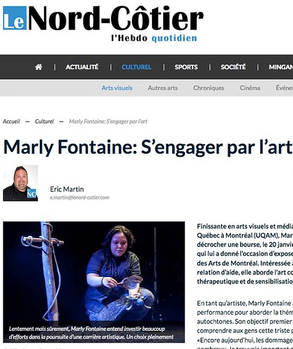 "Marily Lafontaine: s'engager pour l'art • <a style=""font-size:0.8em;"" href=""http://www.flickr.com/photos/26779291@N00/24250277448/"" target=""_blank"">View on Flickr</a>"