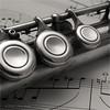 Flute keys - 9588 (DASA Images) Tags: macromondays memberschoicemusicalinstrument muscialinstrument instrument woodwind flute mm music macro