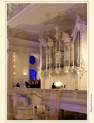 Ludwigskirche Saarbrücken (LauterGold) Tags: saarland saarbrücken saarbrückerludwigskirche friedrichjoachimstengel barock baroque orgue organ orgel buffetdorgues