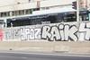 Ypoz Raik (lanciendugaz) Tags: graffiti graff paris spray spraycan autoroute a4 vandalisme vandal chrome couleur lettrage roulo hauteur block crew tags tag taggeurs graffeurs negatif spot