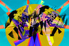 Cubertería (seguicollar) Tags: cubertería cuchara tenedor cubiertos imagencreativa photomanipulación art arte artecreativo artedigital virginiaseguí color colorido multicolor abstracto