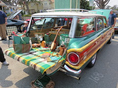 20160819 Californie Pacific Grove - Concours Auto Rally - Ford Falcon Wagon Esquire -(1962)-002 (anhndee) Tags: usa californie california pacificgrove classiccars voituresanciennes