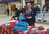 Our favourite poppy sellers are back at Charing Cross.  Brian Coombes has been selling poppies at Charing Cross for over 25 years. (Julie Ramsden) Tags: briancoombes poppy rbl royalbritishlegion charingcross london remembrance