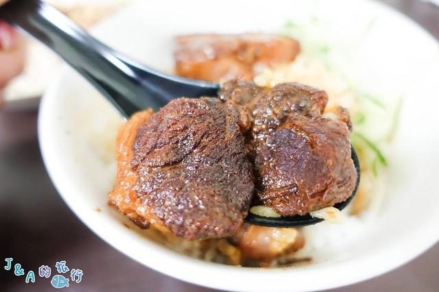 【基隆美食】旭家私廚-新奇皮蛋肉醬麵、怪味雞麵早餐到晚餐都可以吃的到唷!暖暖美食/碇內美食 @J&A的旅行