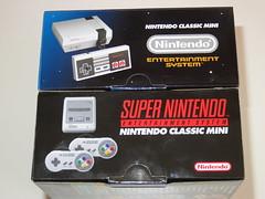 NES & SNES Mini boxes (RS 1990) Tags: nes snes supernes nintendo classic mini box package size australia australian september 2017