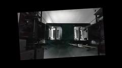 Through the glass ceiling of the Elevator: descent from Danube Tower Vienna (Trip with Lotti) Clip 34sec28  Kone Liftschacht durch die Glas Decke des Aufzugs: Fahrt im Aufzug vom Donauturm hinunter (Ausflug mit Lotti) Video 00:00:34:28 (hedbavny) Tags: blau blue schrift name weis white black schwarz red rot grau kurzvideo kurzfilm shortmovie clip filmlet experimentalfilm improvisation experiment bearbeitung processing vorlauf rücklauf multiplikation wiederholung schnellaufzug expressaufzug doppeldecker doppeldeckerlift schacht shaft aufzugsschacht aufzug elevator lift fahrt ausflug trip outing unterwegs donaupark donau danube oton ton sound music klang geräusch stimme voice gespräch unterhaltung dialog inhalt aussage form effekt augenblick moment licht light schatten shadow lampe farbsprung spiegel mirror tragseil wien vienna austria österreich hedbavny ingridhedbavny