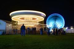 Roker Illuminations. (Mark240590) Tags: sunderland carnival amusement fun family ferriswheel carousel longexposure lights illumination