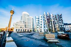Gehry Buildings 'Zollhof' Düsseldorf (sinam777) Tags: gehry buildings düsseldorf hafen medienhafen rhein deutschland germany dusseldorf