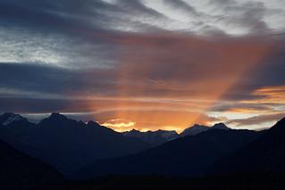 Alps. Spotlight