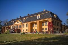 Bogstad  Manor (frankps) Tags: bogstad bogstadgård bogstadmanor oslo building shades grass autumn autumncolors sky