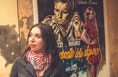 """A proposito della signora"" (damar47) Tags: portrait color vivid face woman girl beautiful vintage friend street pentax k30"