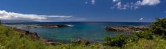 Shark's Cove (i_am_durin) Tags: haleiwa hawaii unitedstates us durinsday waimea sharkscove pano beach ocean snorkeling shark sharks swimming