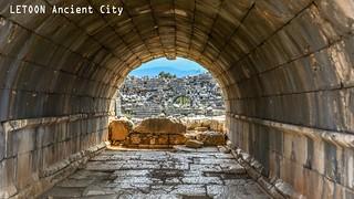 Letoon Ancient City.  Kalkan/Turkey