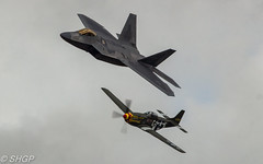 RIAT 2017 Sunday (harrison-green) Tags: f22 raptor f22a raf usaf usafe lakenheath united states royal air force fighter jet stealth suffolk pl outdoor canon 700d sigma 18200mm riat international tattoo 2016 fairford shgp steven harrisongreen vehicle aircraft cockpit sky airplane p51 mustang heritage flight