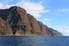 Mākaha Point (Mike Sirotin) Tags: makahapoint usa landscape pacificocean water hawaii nāpalicoast trees pacificmissilerangefacility nature mākahapoint diagonal cliffs military rainforest green kauaʻi lush napalicoast kaui