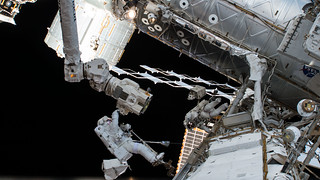 NASA Astronauts on Third and Final Spacewalk in October Series