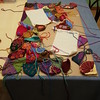 An overview of the crochet crazy quilt panel (crochetbug13) Tags: crochet crocheted crocheting crochetbug crochetcrazyquilt crochetfan crochetafghan crochetblanket crochetthrow embroidery embroideredcrochet