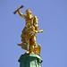 Rastatt, Barockschloss, Jupiter auf dem Dach, 75471/8921