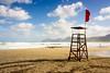 Surf`s up (IrieShooting) Tags: surf playa torre vigilante mar olas cielo nubes viento arena luz amanecer mallorca islas baleares son serra montaña norte isla paisaje tonos viajar españa