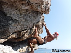 Baou rouge 27 09 2017 032_1 (Eric Lon) Tags: baourouge27092017 stetching etirement souplesse fitness forme bouldering climbing grimper escalade capsicie ericlon