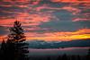 Sleeper September sunrises.  This morning in Jackson Hole. (jacksonholemountainresort) Tags: fall2017 firesky jacksonhole sleepingindian sunrise