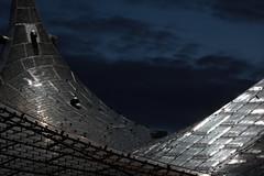 """Munchen D - """"Olympia Schwimmhalle"""" (Fabrizio Lucchese 1') Tags: baviera bayern monaco germania deutschland olympiapark notturno münchen munich canon760d fabriziolucchese"""