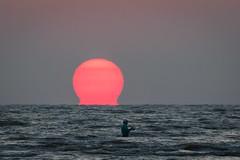 Gas Leak (gseloff) Tags: sunrise surf fisherman water gulfofmexico bolivarflats galvestoncounty texas gseloff