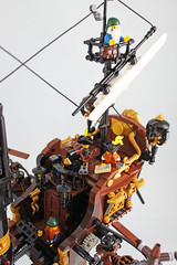 aerospace (bricks.life.idea) Tags: lego airship skyboat steampunk dwarves