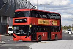 CT Plus Alexander Dennis Enviro400H MMC (2530 - SN66 WRT) 388 (London Bus Breh) Tags: hctgroup ctplus alexander dennis alexanderdennis alexanderdennislimited adl alexanderdennisenviro400hmmc enviro400hmmc e400hmmc e40h mmc hybrid hybridbus hybridtechnology 2530 sn66wrt 66reg london buses londonbuses bus londonbusesroute388 route388 stratford stratfordcity hereeast queenelizabetholympicpark olympicpark tfl transportforlondon