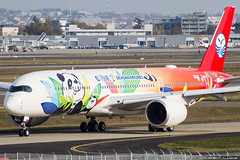Sichuan Airlines Airbus A350-941 cn 060 F-WZFK // B-???? (Clément Alloing - CAphotography) Tags: sichuan airlines airbus a350941 cn 060 fwzfk b
