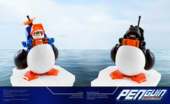 Ice Penguin Suits (roΙΙi) Tags: icepenguin iceplanet penguin explorer ice planet lego afol space icepenguin2002 penguinindustries