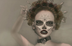 Day of the dead. (Chelsea Chaplynski ( Amity77 inworld)) Tags: avenge portrait dead chelsea lelutka catwa akeruka tableau vivant epiphany